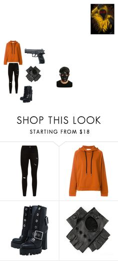 """""""Hoodie"""" by ellingtonchyenne on Polyvore featuring 8PM, Alexander McQueen, Black and Hot Topic"""