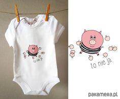 niemowlak - moda - body i śpiochy-Body niemowlęce z Bobołkiem
