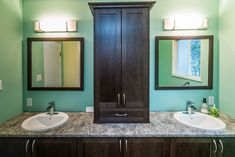 A Custom Bathroom Vanity Can Be Designed To Perfectly Fit on Home Bathroom Ideas 3846 Gray And White Bathroom, White Vanity Bathroom, Bathroom Vanities, Bathroom Sink Design, Bathroom Styling, Bathroom Trends 2018, Modern Farmhouse Bathroom, Bathroom Inspiration, Bathroom Ideas