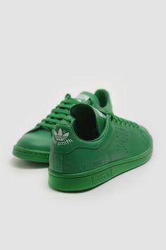ADIDAS X RAF SIMONS Stan Smith Green Sneakers