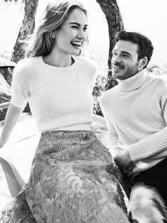 Lily James and Richard Madden. Please just get married, okay?