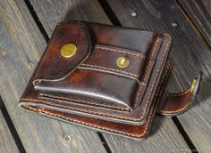 Handmade Leather Wallet, Leather Gifts, Leather Craft, Leather Men, Diy Wallet, Best Wallet, Minimalist Leather Wallet, Leather Holster, Wallets For Women Leather