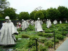 War Memorial Washington DC Korean War