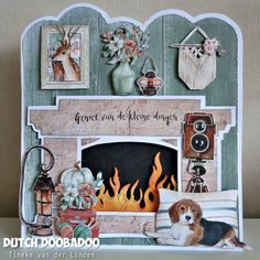 Christmas Items, Christmas Tag, Dog Cards, Marianne Design, Fall Cards, Tim Holtz, Scrapbook Cards, Paper Dolls, Cardmaking