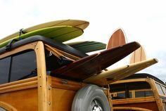 Woody wagons & long boards