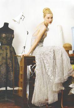 Jessica Stam for Vogue UK