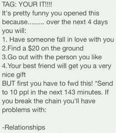 I don't even know man this chain mail is messin w/me