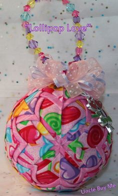 Shop for valentines on Etsy, the place to express your creativity through the buying and selling of handmade and vintage goods. Star Ornament, Ball Ornaments, Quilted Christmas Ornaments, Christmas Bulbs, Valentine Crafts, Valentines Day, Quilt Patterns Free, Fabric Scraps, Balls