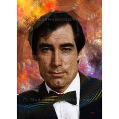 Bond, James Bond 4 - By John Robert Beck  This art was created in 2013. The piece is from a series of James Bond art. This piece features the fourth person to star as James Bond, Timothy Dalton. $3.00