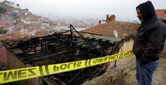 Alaşehir'de yaşlı kadın yanarak can verdi