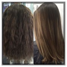 Before and After Balayage with Olaplex by dandradecolorexpert Soft Blonde Highlights, Straight Hairstyles, Cool Hairstyles, Medium Hair Styles, Long Hair Styles, Brazilian Blowout, Best Salon, Medium Long, Color Correction