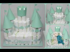 Baby Shower Crafts, Baby Shower Fun, Baby Crafts, Baby Shower Parties, Shower Gifts, Diaper Cake Boy, Baby Boy Cakes, Baby Shower Baskets, Baby Shower Diapers