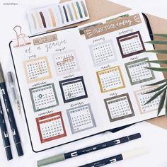 bullet journal idées de planificateur bujo pour les spreads hebdomadaires studyg Studygram callig #bu