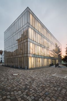 library of the folkwang university of arts, Essen, Germany Max Dudler