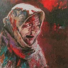 موناليزا حلب #حلب_تحترق