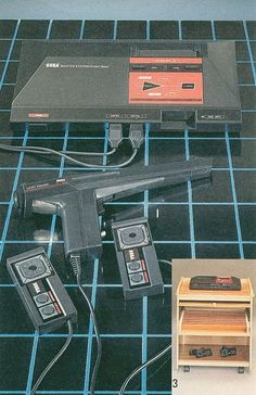 Sega Master System (the first Sega...the one BEFORE Genesis)...this was funnn