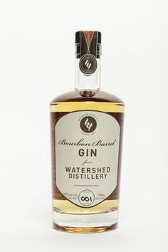 Always good to see another aged gin: Watershed Distillery is launching its Bourbon Barrel Gin, made by aging their Four Peel Gin in bourbon barrels for nine to 12 month.