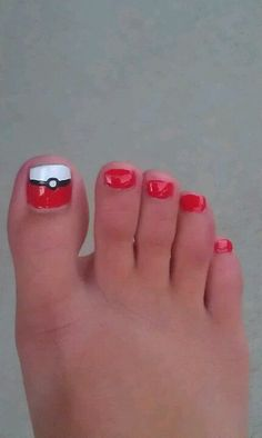 Best toe nail painting ever