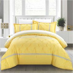 CHIC HOME KING VERMONT 12pc COMFORTER SET