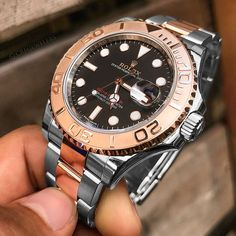 """22b916fa17b Luxury Watches on Instagram  """"Are You A Fan Of The 🌹🔶Rose 🔶Two-Tone  Rolex Yacht Master 😎 💵 11"""