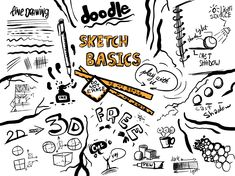 How Doodle increases your spontaneity. The brain science of freestyle drawing. Drawing Skills, Drawing Reference, Freestyle Rap, Drawing Activities, Brain Science, Forms Of Communication, Drawing Expressions, Shadow Play, Social Activities