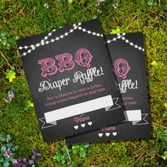 INSTANT DOWNLOAD!! OPEN WITH LATEST VERSION OF ADOBE READER!! PRINT AT HOME!!    This listing is for the digital file of the CHALKBOARD BBQ