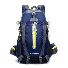 $48.33 (Buy here: https://alitems.com/g/1e8d114494ebda23ff8b16525dc3e8/?i=5&ulp=https%3A%2F%2Fwww.aliexpress.com%2Fitem%2FOutdoor-spike-bag-shoulder-bag-hiking-bag-shoulder-computer-bag-backpack-male-female-outdoor-waterproof-40L%2F32343639586.html ) high-quality Waterproof Nylon backpack Camping Hiking mountain climbing riding travel backpack daily school rucksacks 40L for just $48.33