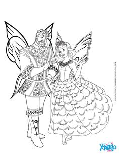 Coloriage De La Jolie Robe Et Les Grande Ailes Barbie Mariposa Au