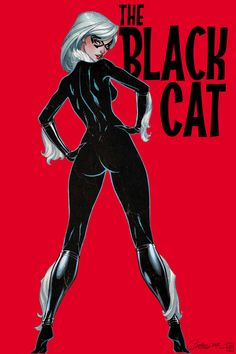 Around your crooked conscious she will wind The Black Cat Marvel Dc, Marvel Comics Art, Marvel Girls, Comics Girls, Marvel Heroes, Marvel Comic Character, Comic Book Characters, Marvel Characters, Comic Books Art