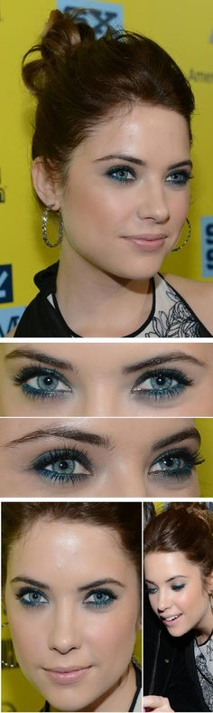 Gorgeous and Wonderful Mermaid Makeup Inspired Tutorials by Ashley Benson Brunette