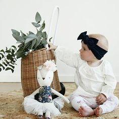 Lulu and Milly - Australian made organic childrens headbands leggings