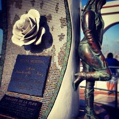 Selena Quintanilla-Perez Memorial. If you're ever in Corpus stop by and pay respect to this legend.