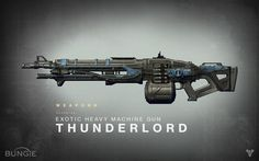 Bungie : News : Destiny Drawing Board: Thunderlord