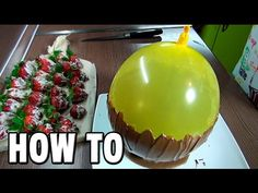 How To Make a Chocolate Bowl Using a Balloon. Here I'll show you some chocolate tips and tricks.