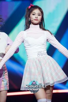 170302 Mnet M! Countdown EP. 513 - TWICE Knock Knock