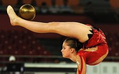 Wow: Scotland's Victoria Clow competes in the rhythmic gymnastics individual all around final Picture: AFP Poetry in motion, a selction of images from the lesser appreciated sports in the London 2012 Olympic Games