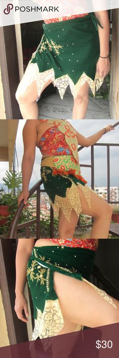 🕉💥Handmade festival wear wrap skirt festival Wrap Skirt, Gypsy skirt, Tribal Skirt,  belly dance skirt, Boho Skirt, Festival Skirt, Music Festival Skirt    This wrap  skirt is made out of hand embroidered bead work done velvet. It is a wrap skirt which can be adjusted to your size by wrapping around your waist.   Material: Velvet & Lace  Size: One size ( Adjustable)  Length: 36 Inch Wash:Hand or machine with cold water Suited for Summer ,Spring, Winter and Fall  Boho Skirt Tribal…