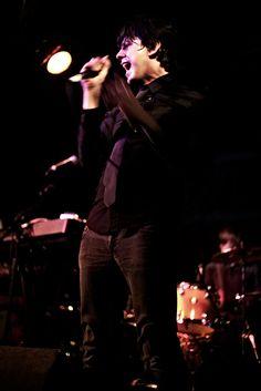 Matt Woolway, lead singer @ Melodramas