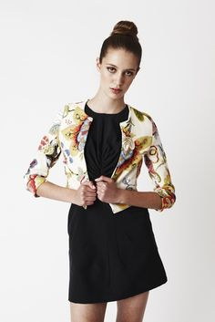 Hey, I found this really awesome Etsy listing at http://www.etsy.com/listing/63696602/cropped-floral-jacket-fully-lined