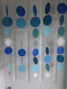 Manualidades para decorar una fiesta Frozen