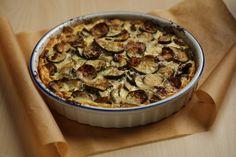 Savory Zucchini Clafouti