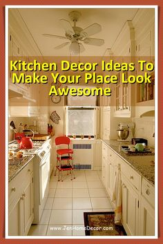 Small kitchen decor Ideas that will wow your guests and family. Get inspired by the best designs and create a space with personality! Decorating Kitchen, Kitchen Decor, Kitchen Design, Modern Spaces, Country Kitchen, Personality, Cool Designs, Kitchen Cabinets, Decor Ideas