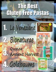 The Best Gluten Free Pasta - celiacs