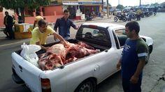 Parintins/carne clandestina Poucos dias após o escândalo no Brasil com a operação Carne Fraca da Polícia Federal, que revelou um suposto esquema de corrupção na venda de carnes adulteradas sem fiscalização, alguns proprietários de açougues de Parintins foram flagrados comentendo irregularides. Fiscais da Vigilância Sanitária e Agência de Defesa Agropecuária e Florestal do Estado do Amazonas (Adaf) apreenderam na manhã desta quarta-feira (22) 482 quilos de carne clandestina que seriam…