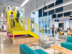 capital one labs by studio o a is a finalist in interior designs best of year awards capital group interiors capital group office interior