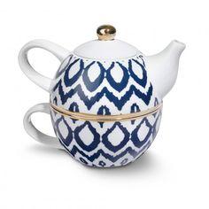 Ikat Tea For One Set
