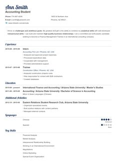 Professional Resume Templates Create Your Resume In  Min