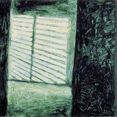 L'Altra Stanza 1988 oil on canvas cm. 90x90