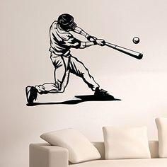 Wall Decal Vinyl Sticker Gym Sport Baseball Player Decor Sb208 ElegantWallDecals http://www.amazon.com/dp/B011LL3MC4/ref=cm_sw_r_pi_dp_seQPvb1739TSH