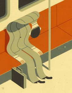Brad Yeo #lovely #illustration